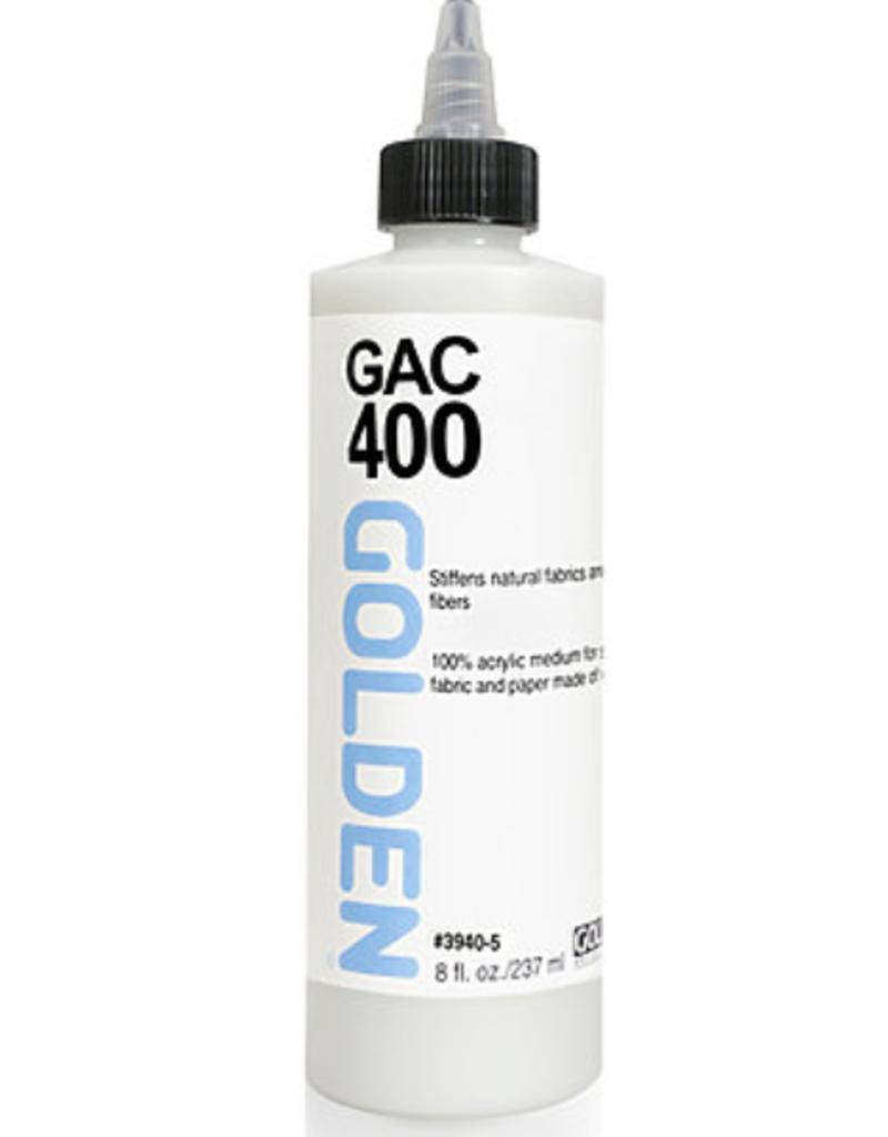 GAC 400 Acrylic Polymer for Stiffening Fabrics, 8oz