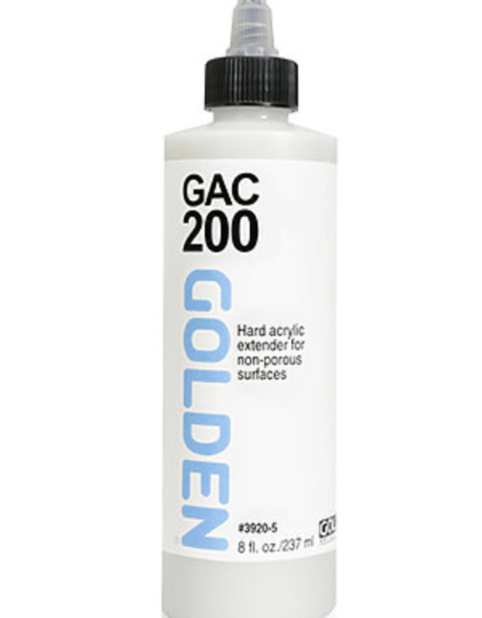 GAC 200, Golden Acrylic Polymer for Increasing Film Hardness, 8oz