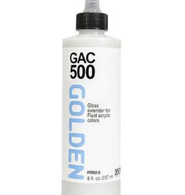 GAC 500, Golden Acrylic Polymer, 8oz