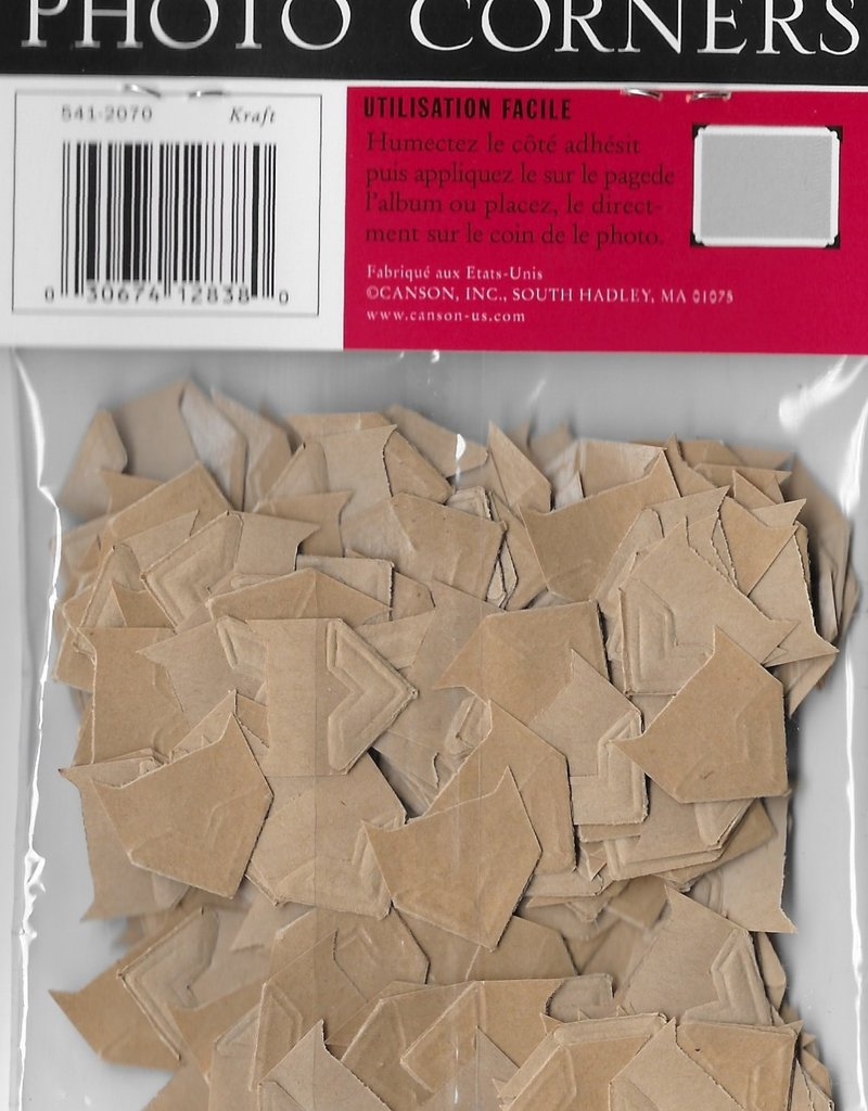 Photo Corners, Kraft Color, Pack of  240