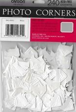 Photo Corners, White, Pack of  240