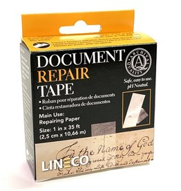 "Document Repair Tape, Acid-Free Self-Adhesive, 1"" x 35',"