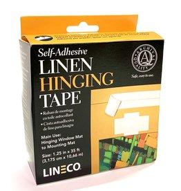 "Linen Hinging Cloth Tape, Self Adhesive, 1.25"" x 35'"
