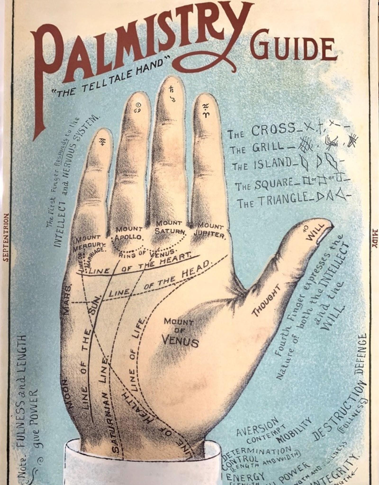 "Cavallini Palmistry, Poster Print, 20"" x 28"""