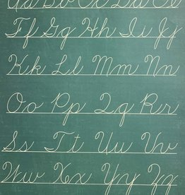 "Cavallini Handwriting Chart, Poster Print, 20"" x 28"""