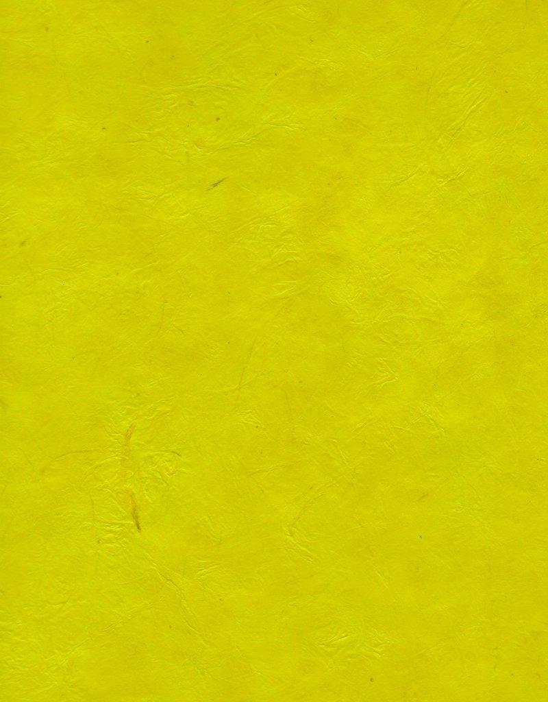 "Lokta Heavy Lemon Yellow, 20"" x 30"", 100gsm"
