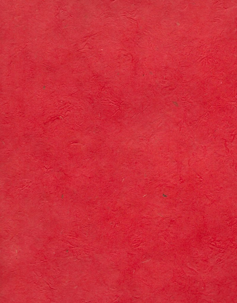 "Lokta Heavy Red, 20"" x 30"", 100gsm"