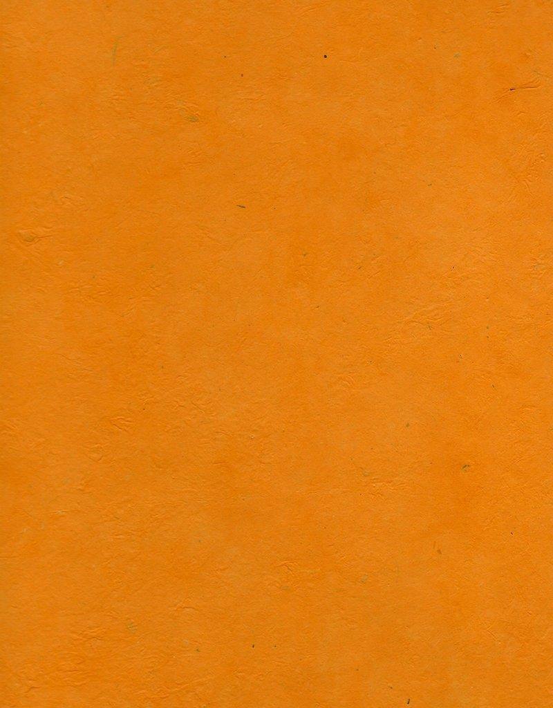 "Lokta Heavy Orange, 20"" x 30"", 100gsm"