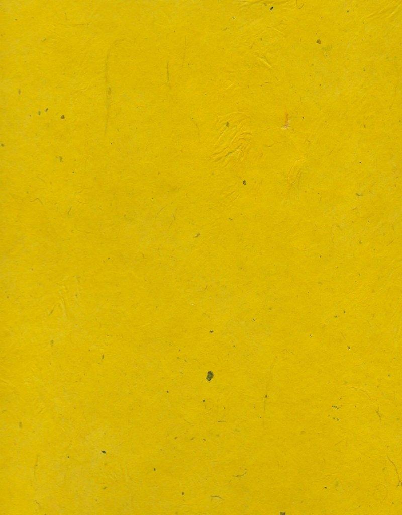 "Lokta Heavy Tiger Yellow, 20"" x 30"", 100gsm"