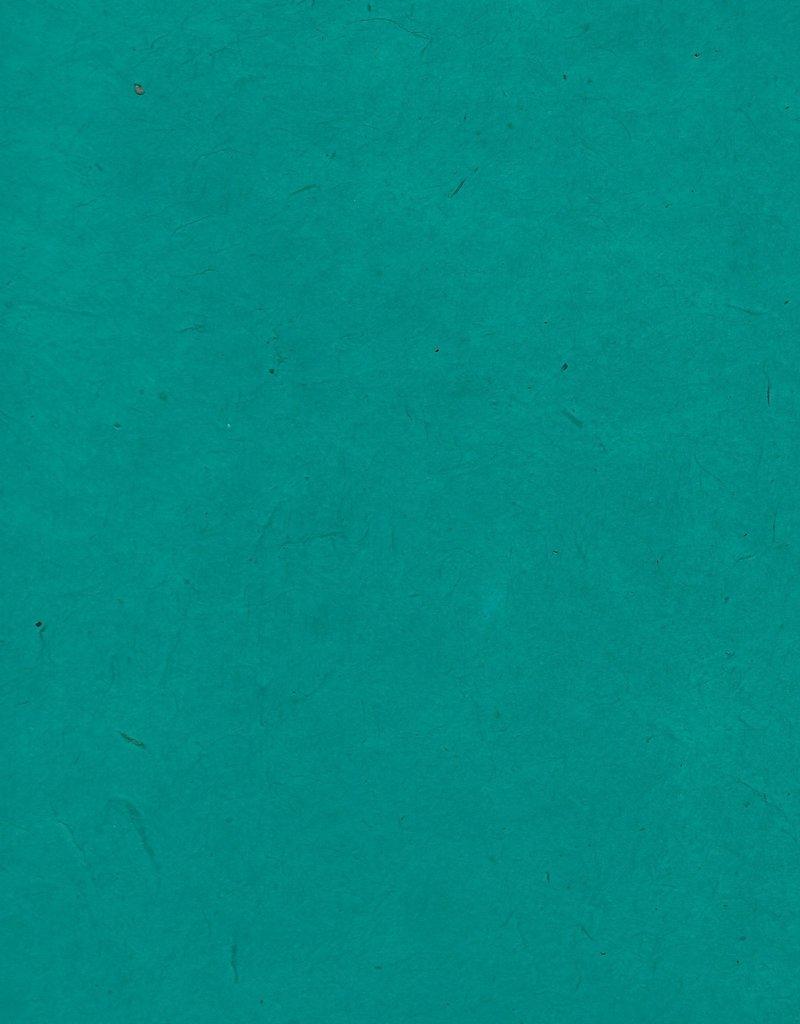 "Lokta Heavy Sea Green, 20"" x 30"", 100gsm"