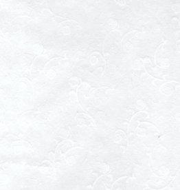 "Usagami Rose, White, 24"" x 36"" 18gsm"