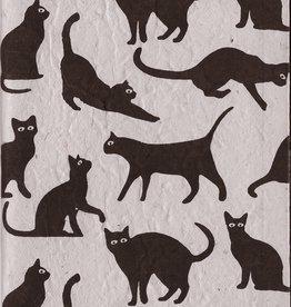 "Black Cat, Journal, 5"" x 8"""