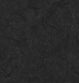 "Thai Unryu Black, Roll, 39"" x 11yards, 25gsm"