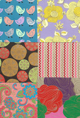"""Indian Decorative Paper Pack, 11"""" x 11"""" 20 Sheets"""