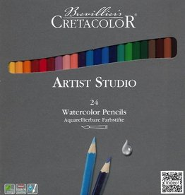 Cretacolor, Artist Studio Watercolor Pencils, 24 Pencil Set