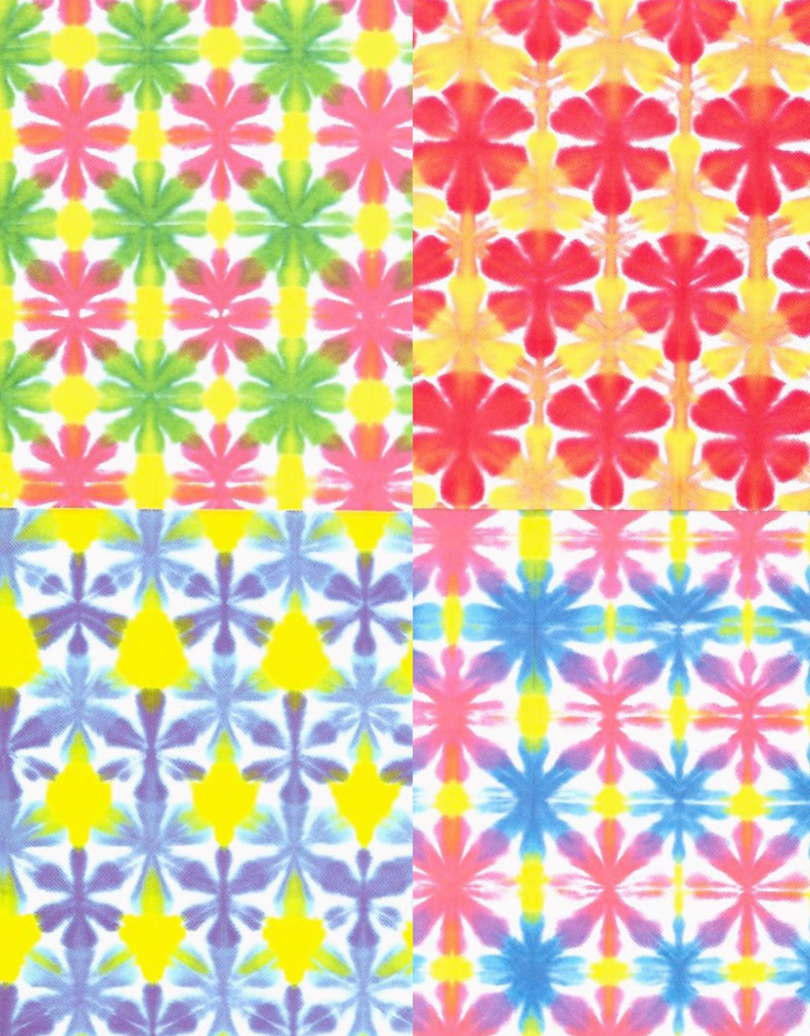 "Origami, 6"" x 6"", Hana Bokashi Chiyogami, 10 Sheets of 4 Different Colors, 40 Total Sheets"