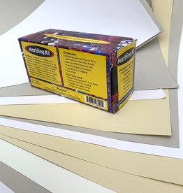Marbling Kit with Variety of Papers