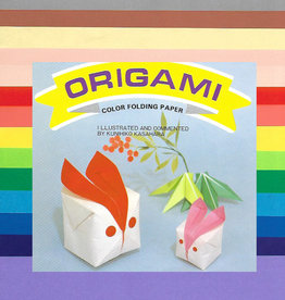 "Origami, 7"" x 7"",  Multi Color Folding Paper, 100 Total Sheets, OG5"