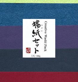Awagami Awagami Creative Washi Pack, 500g, 1lb Bag of Paper