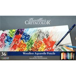Cretacolor, Aqua Monolith Pencil, Metal Tin Set of 36