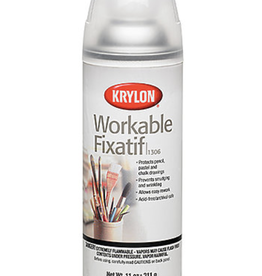 Workable Fixatif, Krylon, 11oz