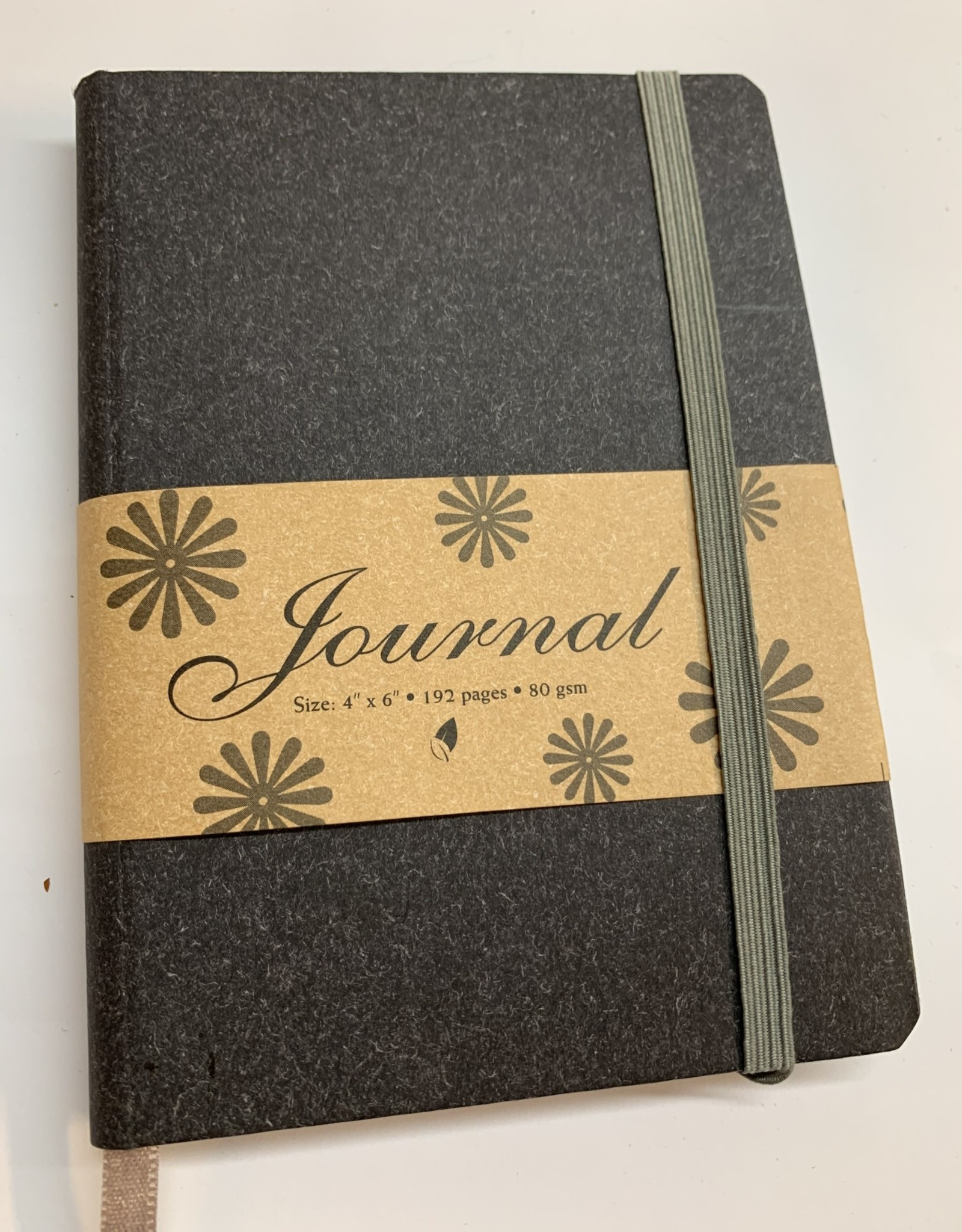 """Journal with Black Cover, 4"""" x 6"""""""