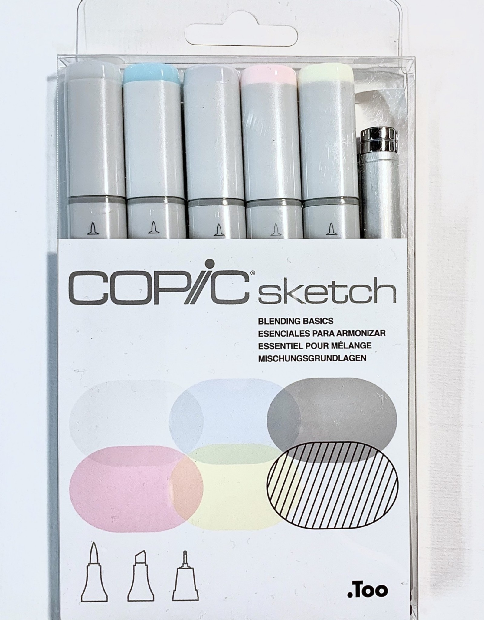 Copic Sketch Marker, Blending Basic Set of 6