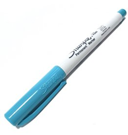 Sharpie Ultra Fine Point Aqua