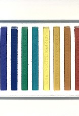 Cretacolor, Hard Pastel Carre Cardboard Set of 12, Nature Colors