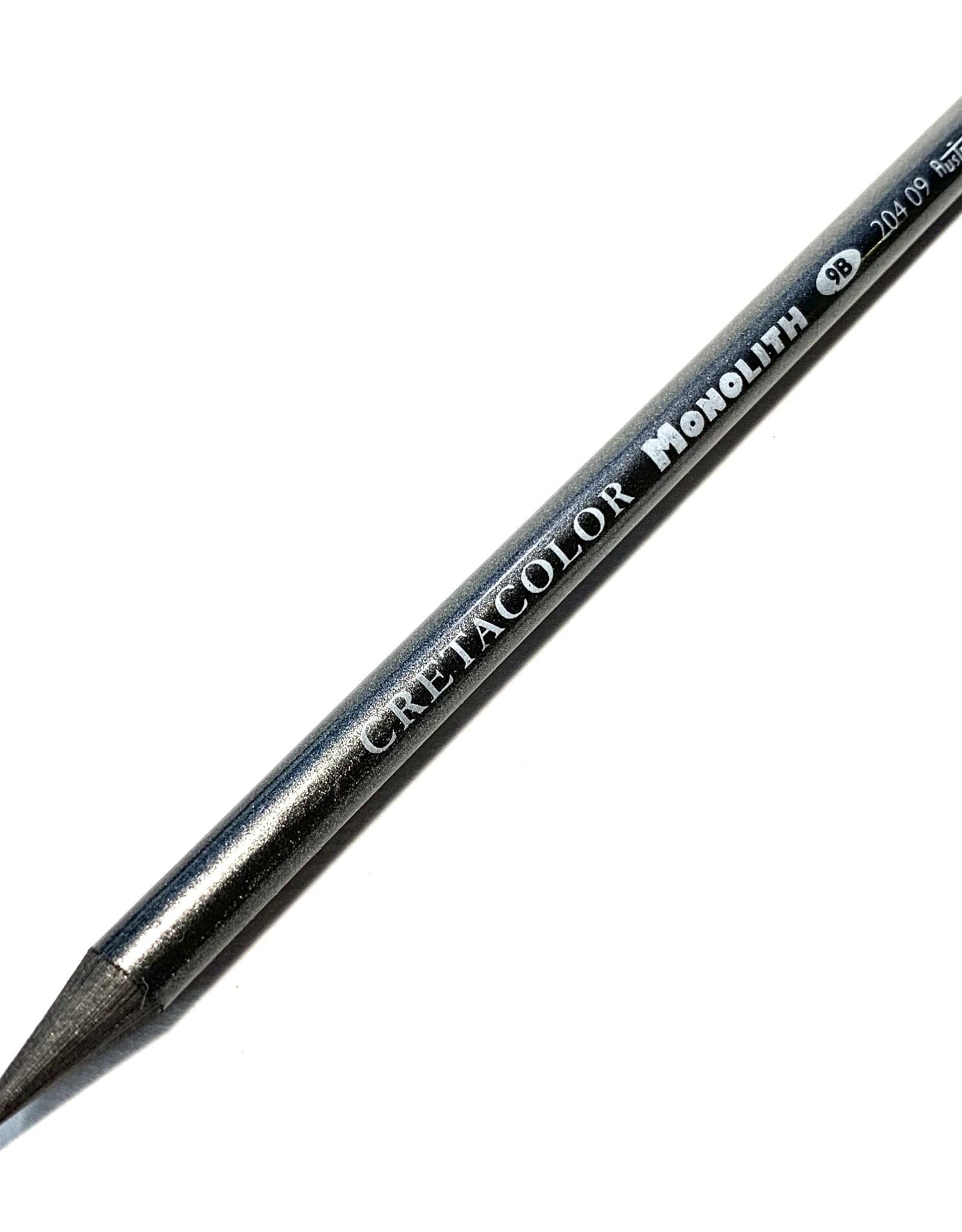 Cretacolor Monolith Woodless Graphite Pencil, 9B