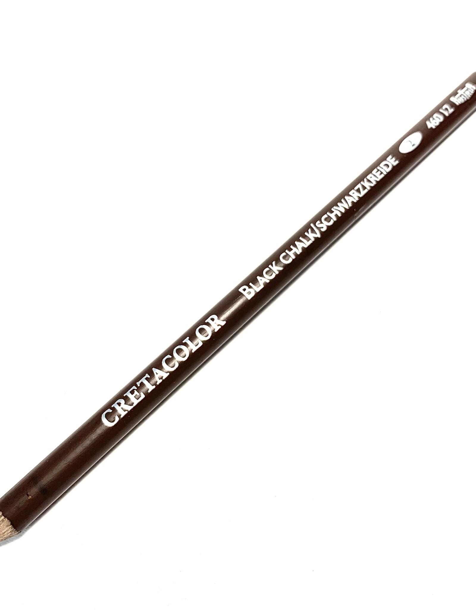 Cretacolor Artist Pencil, Black Chalk