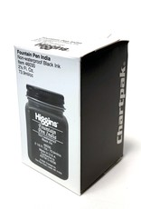 India Ink, Fountain Pen, Non-Waterproof Black Ink, Higgins, 2.5oz