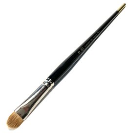 Paragon Pia Supreme Sable Brush, Filbert, 9915 #12