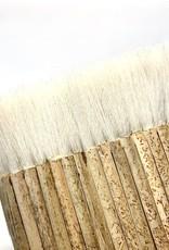 "Hake Pipe Brush 4.75"", Sheep Hair"