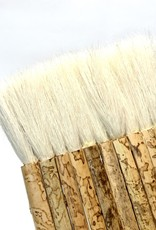 "Hake Pipe Brush 3"", Sheep Hair"