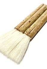 "Hake Pipe Brush 1.5"", Sheep Hair"