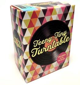 Teeny Tiny Turntable with 3 Records