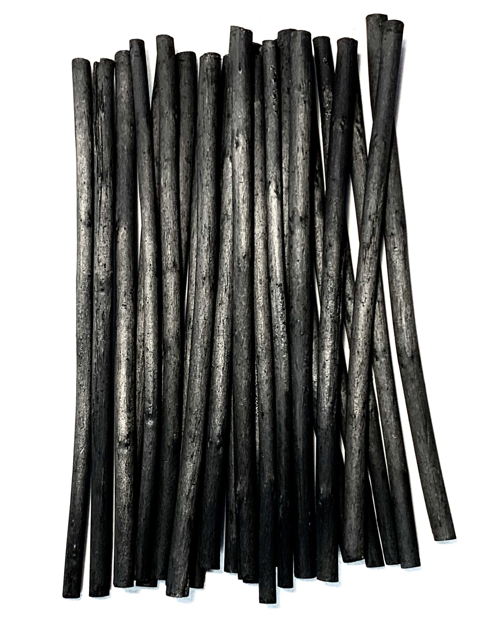 """Willow Charcoal, 5-6mm 3/16"""" Willow Charcoal Sticks - 25pcs"""