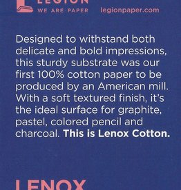 "Lenox Cotton, 2.5"" x 3.75"" 15 Sheet Pad"