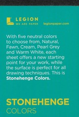 "Stonehenge Colors, 2.5"" x 3.75"" 15 Sheet Pad"