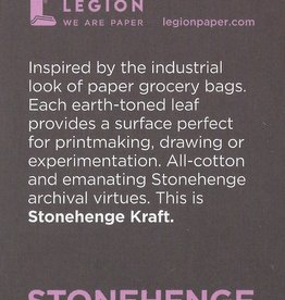 "Stonehenge Kraft, 2.5"" x 3.75"" 15 Sheet Pad"