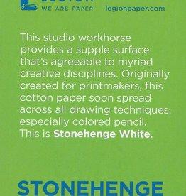 "Stonehenge White, 2.5"" x 3.75"" 15 Sheet Pad"