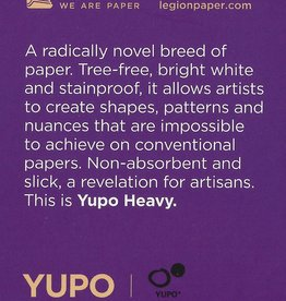 "Yupo Heavy, 2.5"" x 3.75"" 10 Sheet Pad"