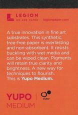 """Yupo Medium, 2.5"""" x 3.75"""" 10 Sheet Pad"""