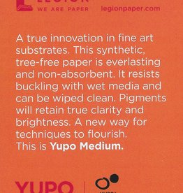 "Yupo Medium, 2.5"" x 3.75"" 10 Sheet Pad"