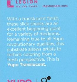 "Yupo Translucent Clear, 2.5"" x 3.75"" 15 Sheet Pad"