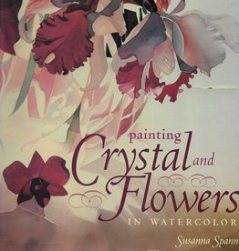 Painting Crystal and Flowers in Watercolor