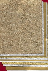 "Origami Metallic Selection, Kingin Washi, 6"" x 6"", 12 Total Sheets"