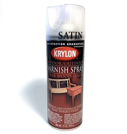 Varnish Spray, Satin, Krylon, 11oz