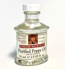 Purified Poppy Oil, Daler-Rowney, 75ml